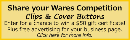 Share Your Wares for a Chance to Win a $50 Gift Certificate