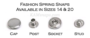 The Latest News from KAMsnaps com: Metal Snaps in Gold & Brass