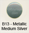B13 Metallic Medium Silver