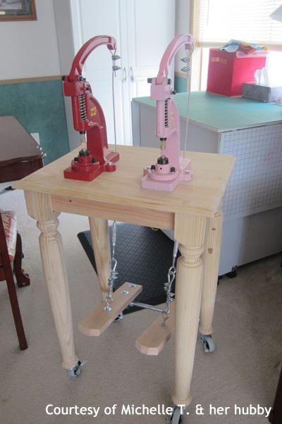 foot press grommet machine