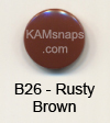 B26 Rusty Brown