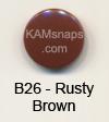 B26 Rusty Brown
